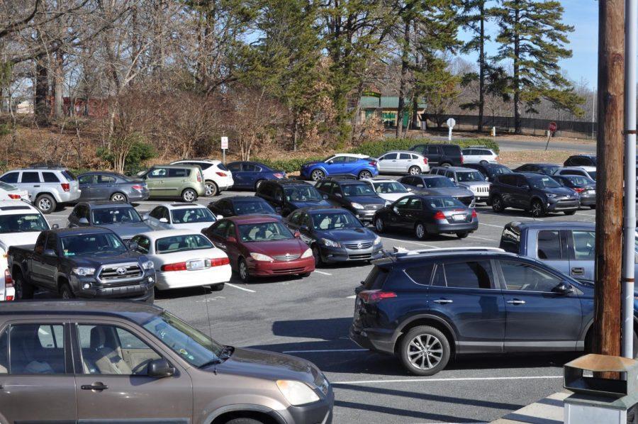 West's third student parking lot.