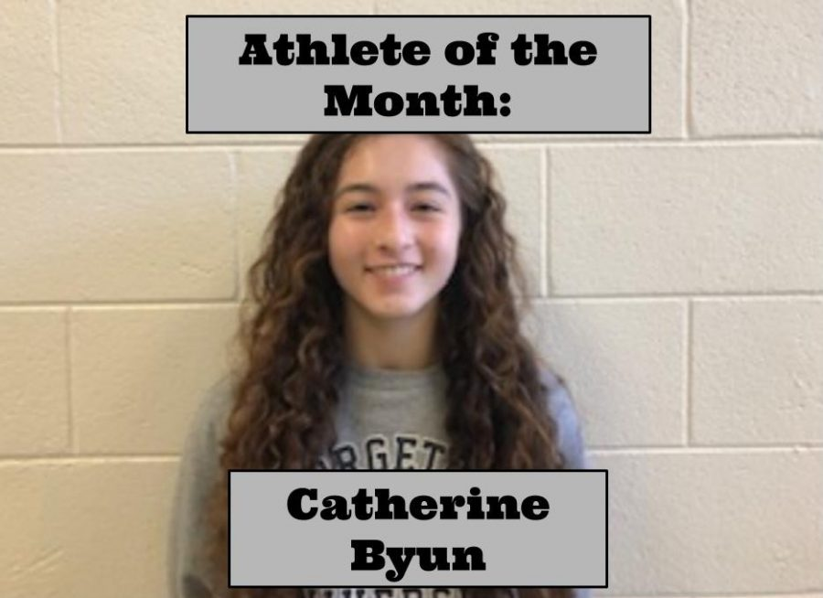 Catherine Byun has made huge strides for herself and for the girl's basketball team at West.
