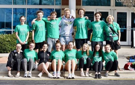 Swim and dive team glides past competition at state meet