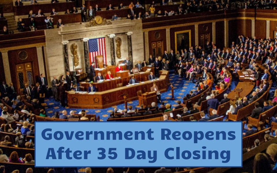 After 35 days of partial government shutdown, Congress and President Trump have yet to reach an agreement regarding the border wall.