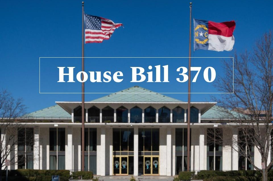The North Carolina General Assembly building located in Raleigh. House Bill 370 was passed by the North Carolina House of Representatives on April 3.