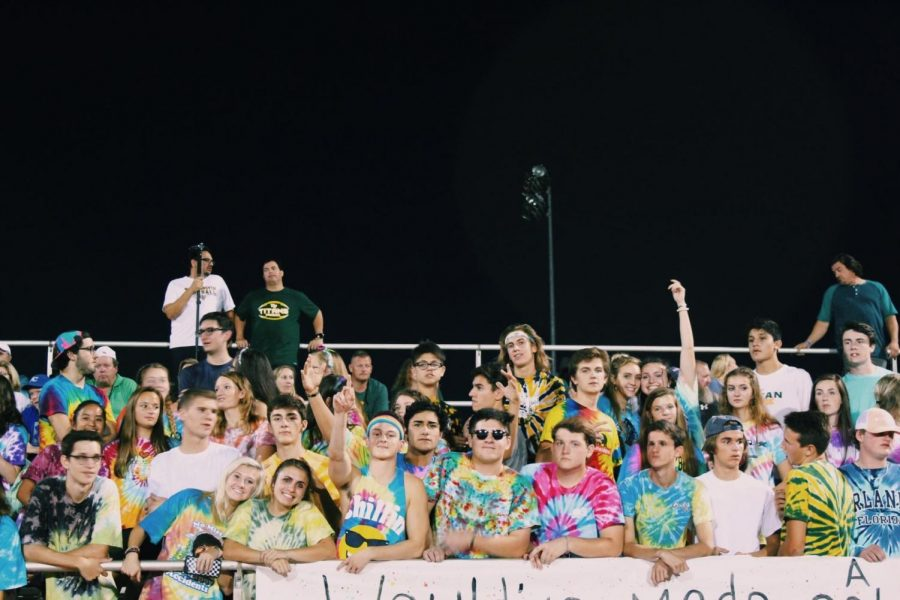 Freshman school spirit should be stronger