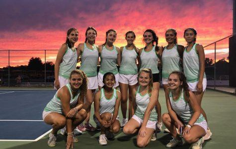 West is 'Aceing' the Tennis Preseason