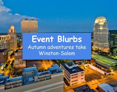 Event Blurbs: Autumn adventures take Winston-Salem