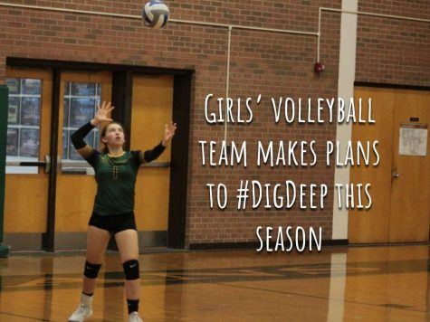 Girls' volleyball team makes plans to #DigDeep this season