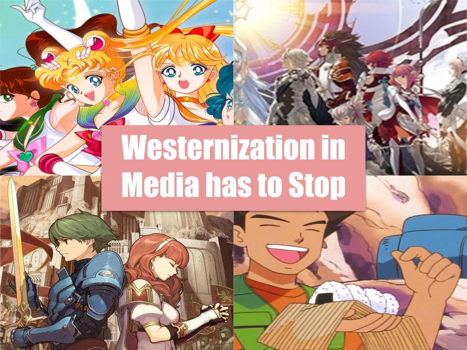 The many examples of westernization in foreign media. Did the United States needlessly get too involved?