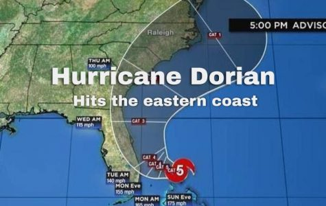 Hurricane Dorian hits the eastern coast