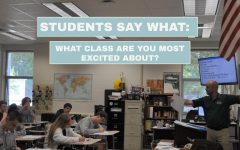Students Say What: What class are you most excited about?