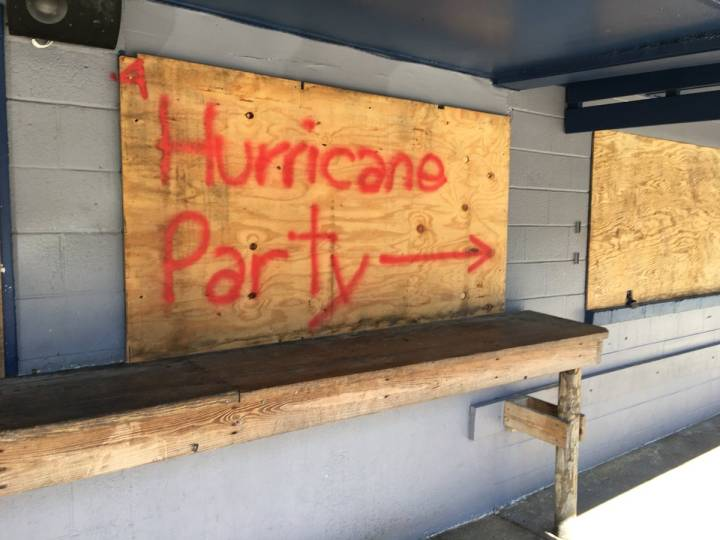 Hurricane parties have become increasingly common.