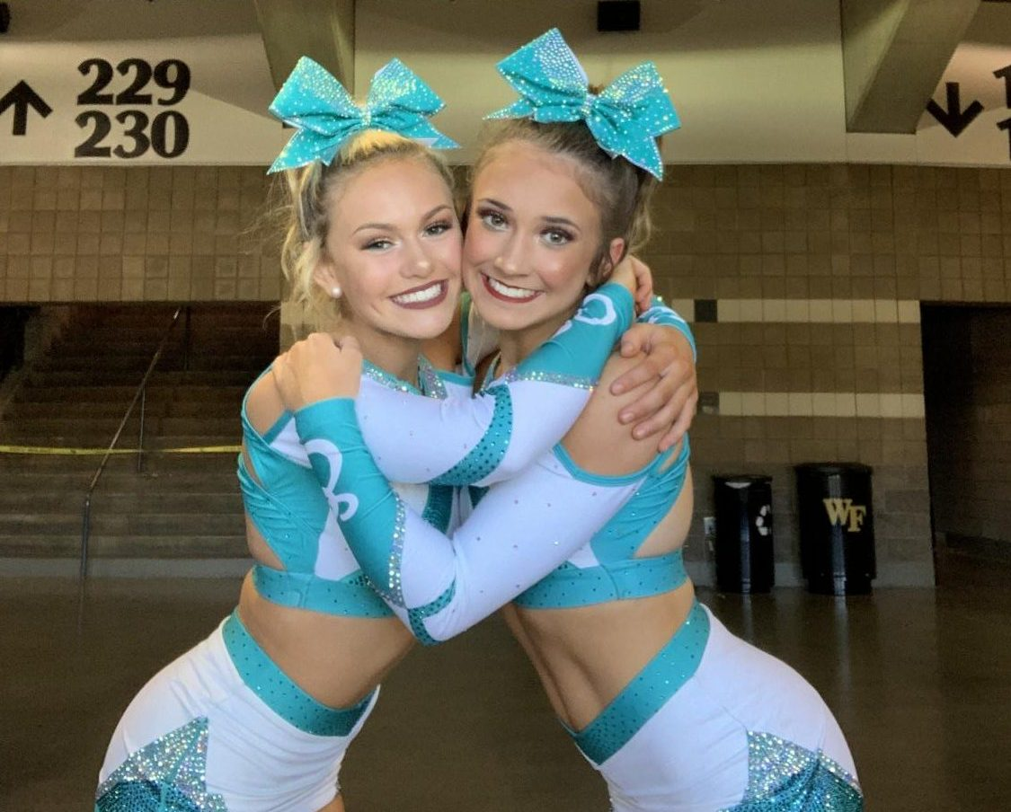 Mckenna Singer and Ally Hodges are just a few of the school's all- star cheerleaders.