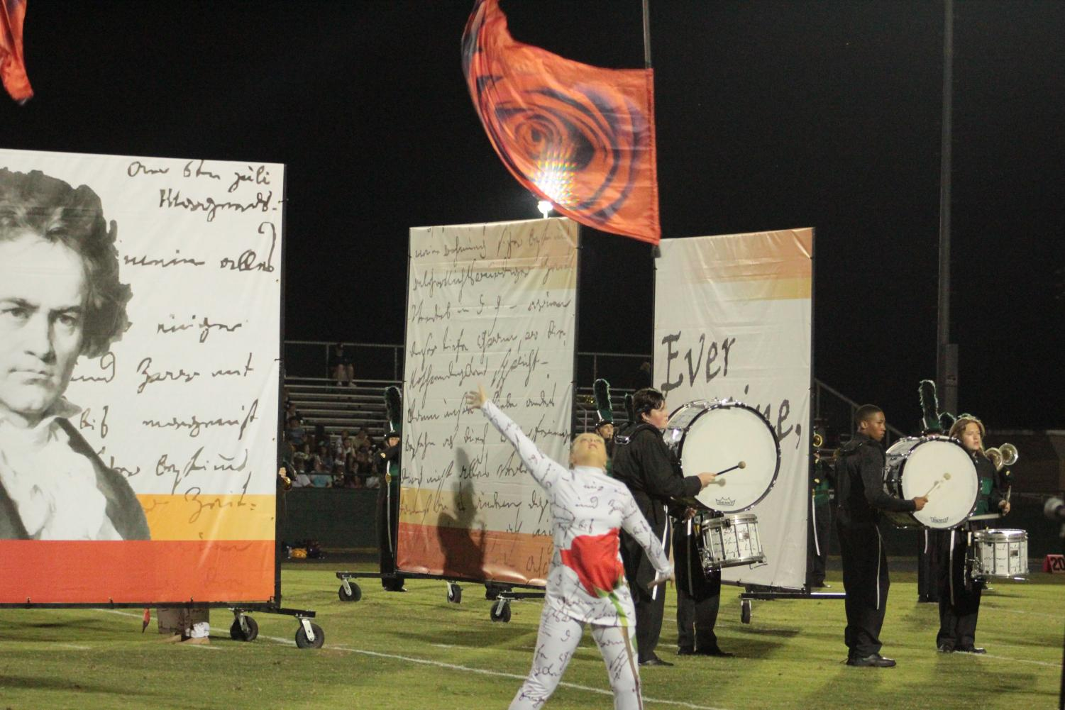 Jenna Jordan showcases the talent required to perform in color guard. This activity finally needs the respect it deserves.