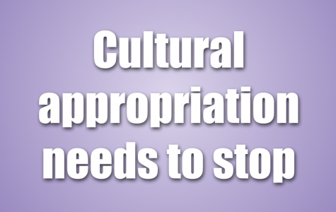 Cultural appropriation can be seen throughout our society. Enough is enough.