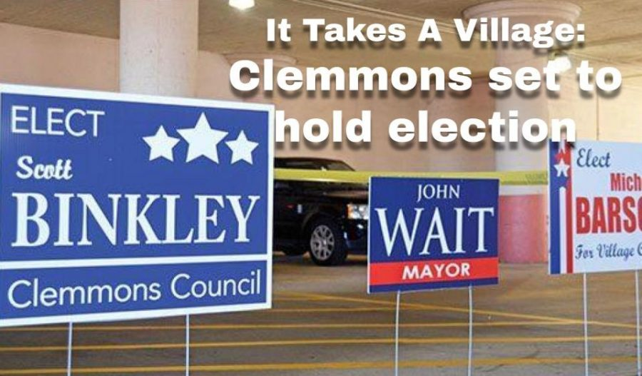 Election+signs+from+the+2017+election.+Names+like+Mayor+John+Wait+are+up+for+re-election.