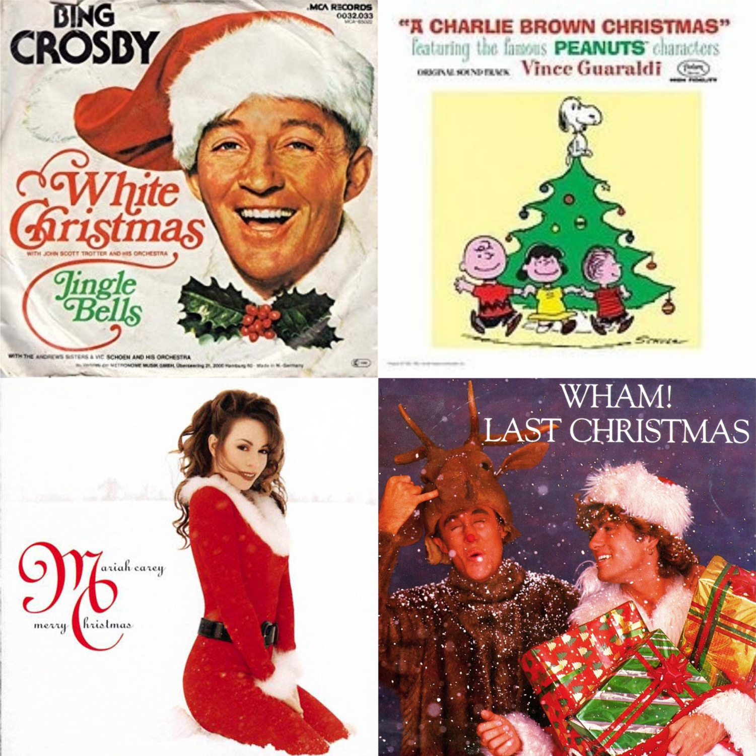 It's time for some of the merriest music of them all: holiday music! See which songs are student favorites.