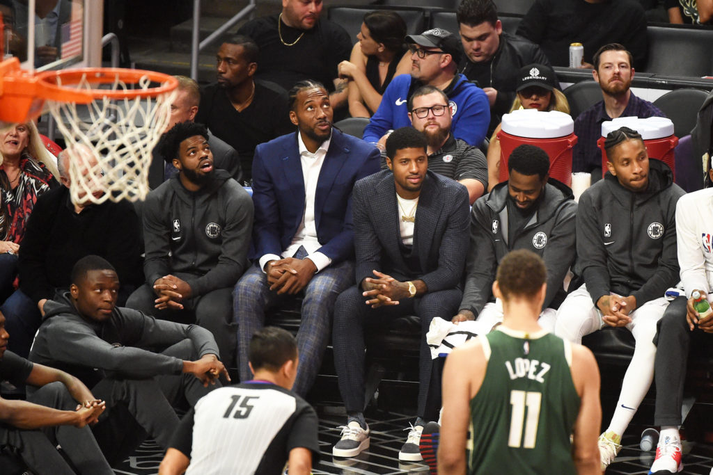 Kawhi Leonard sits out of the Clippers nationally televised game against the Bucks. The Clippers haven't been consistent with Leonard's playing time this season.