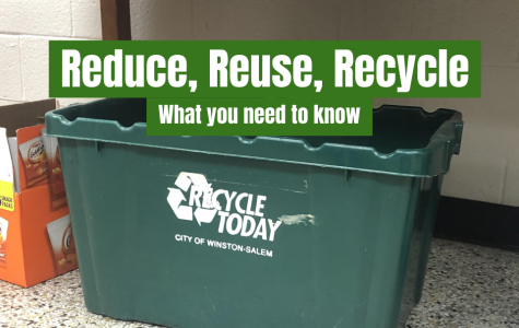 Recycling bins are available across West's campus. Find out what you can recycle to help save our environment!