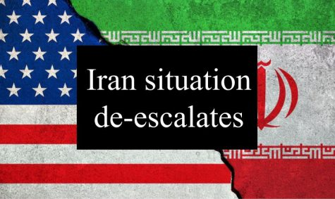Iran situation starts de-escalating