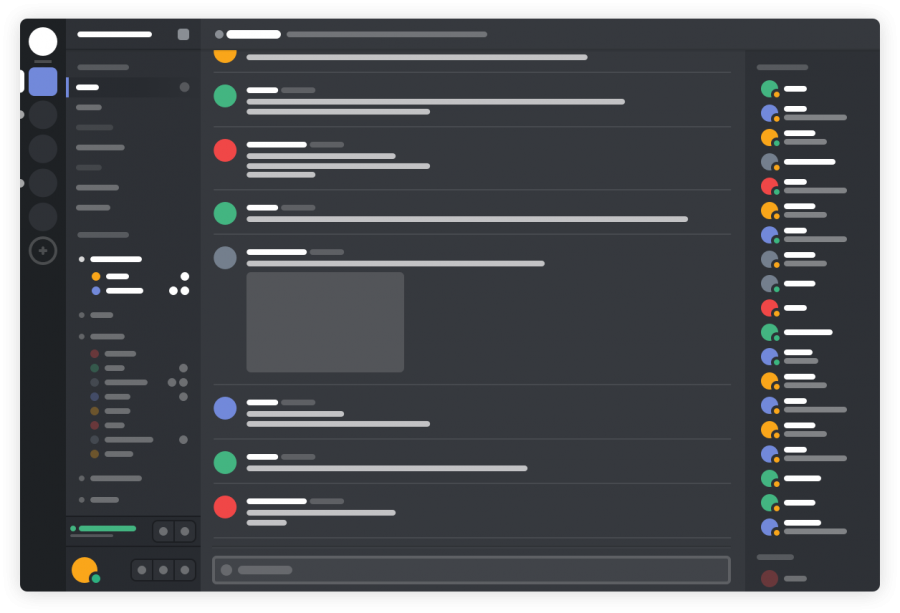 A+basic+outline+of+Discord%2C+a+chatroom+application+often+used+to+talk+about%2C+stream+and+play+video+games.