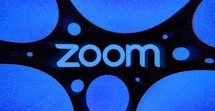 A graphic of zoom, the platform that most teachers are using for their online meetings.