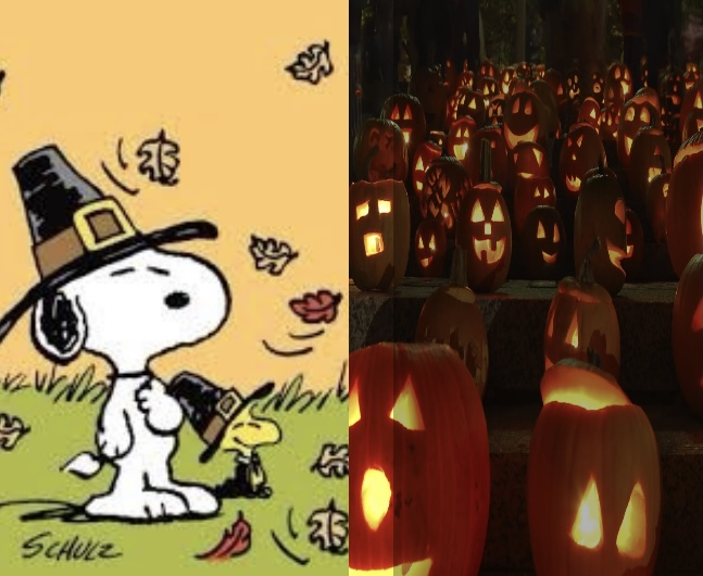 What vibe do you give off during the fall season? Do you prefer carving haunting jack o'lanterns or watching A Charlie Brown Thanksgiving?