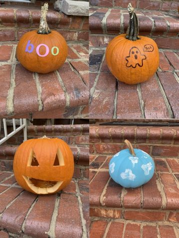 Pumpkins are a great way to decorate for fall, here are some ways to spice them up.
