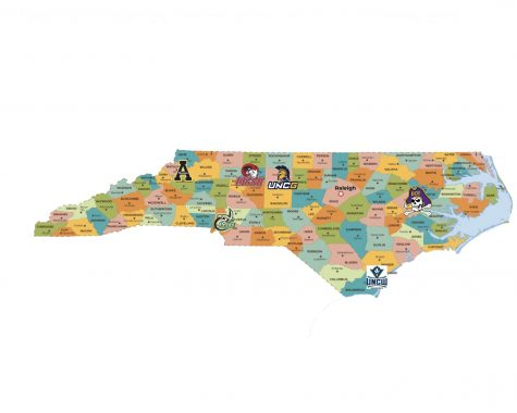 North Carolina is home to a myriad of universities, each  offering unique experiences for sports fans.