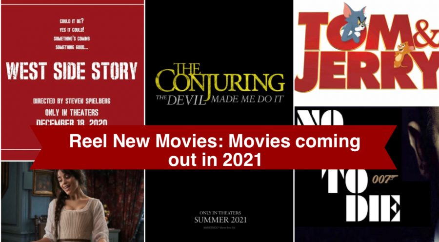 Reel New Movies: Movies coming out in 2021