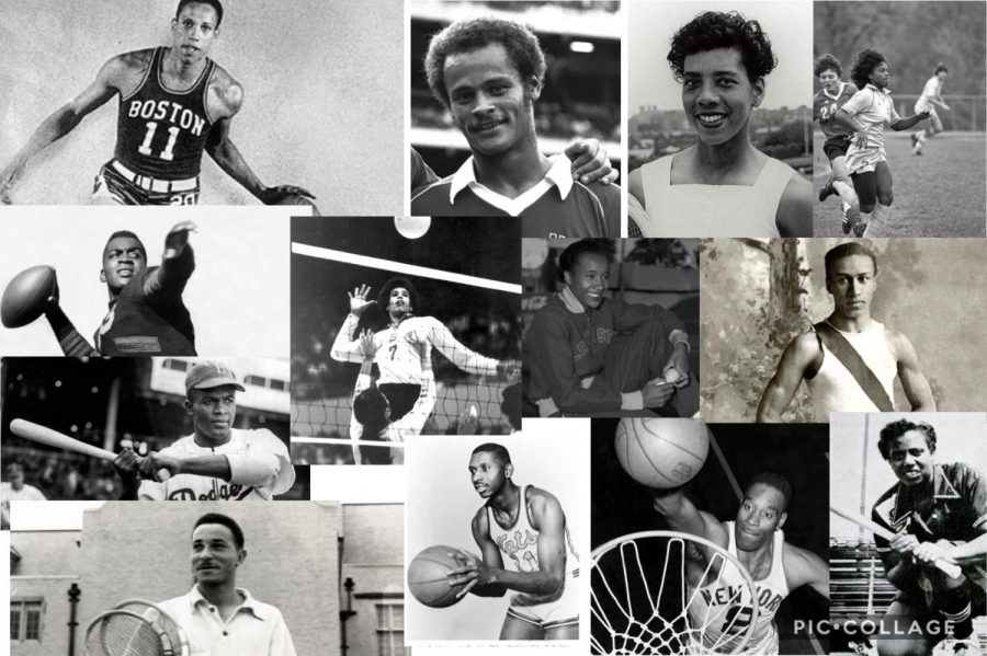 During the years of segregation and hardship for African Americans, these athletes stood their ground and played the sports they loved despite the pushbacks.