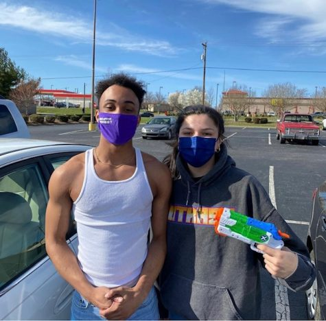 Gaby Ferrer takes out fellow Lowes worker Darren James after his shift. Seniors are willing to take extreme lengths, even turning against close friends, to achieve that kill.