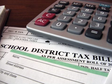 Taxes for schools are collected based on property taxes and where a person lives. This isn