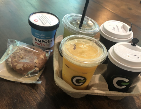 Clutch Coffee has great food and drink options to give a try.