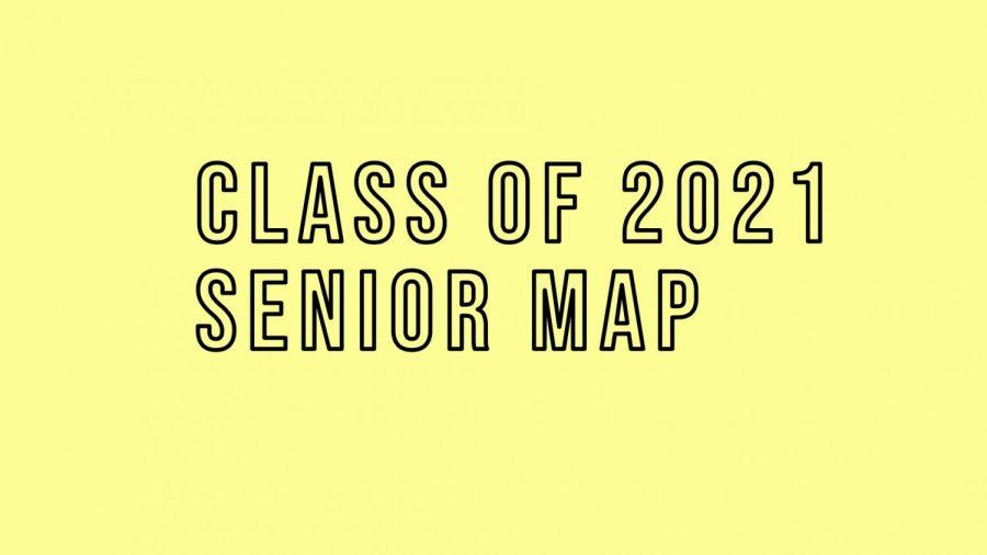 Class of 2021 Senior Map
