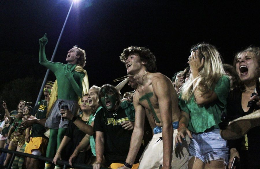 The West student section is for Titans only, remember your place on the bleachers!